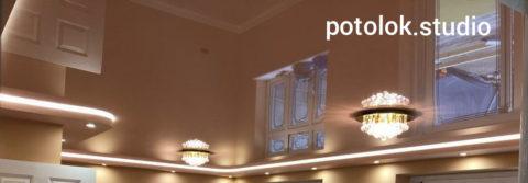 Заказать натяжные потолки в Мытищах